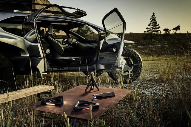 画像5: フランクフルトショーで「Audi AI:TRAIL quattro」を公開