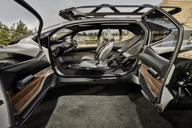画像3: フランクフルトショーで「Audi AI:TRAIL quattro」を公開