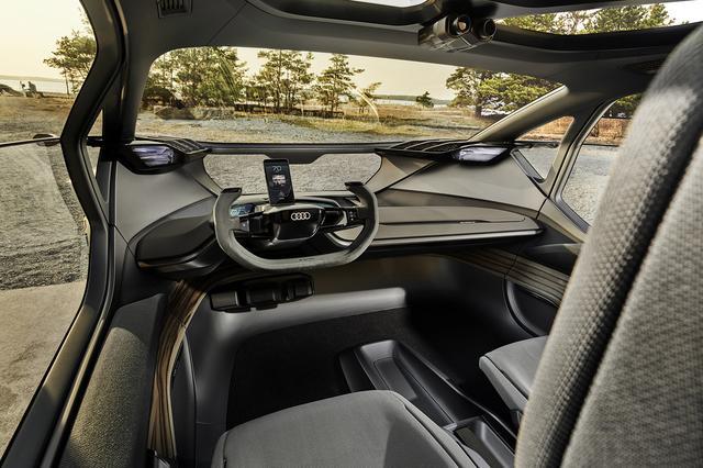 画像4: フランクフルトショーで「Audi AI:TRAIL quattro」を公開