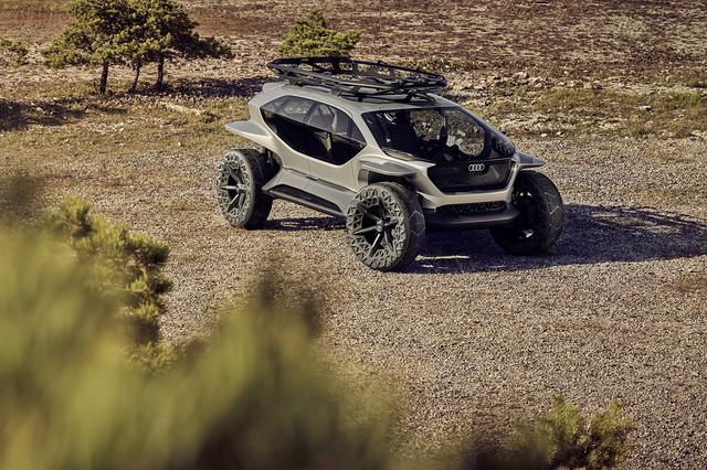 画像1: フランクフルトショーで「Audi AI:TRAIL quattro」を公開