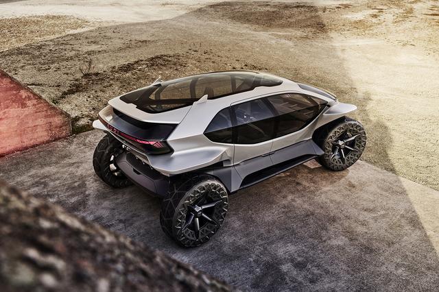 画像7: フランクフルトショーで「Audi AI:TRAIL quattro」を公開