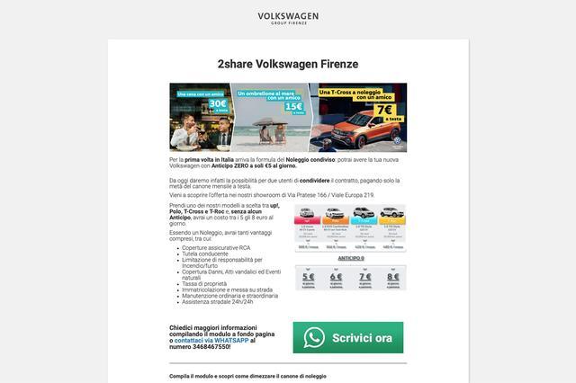 画像6: えっ、VWが1日600円で持てるって!  これが最新プロモーション戦法だ