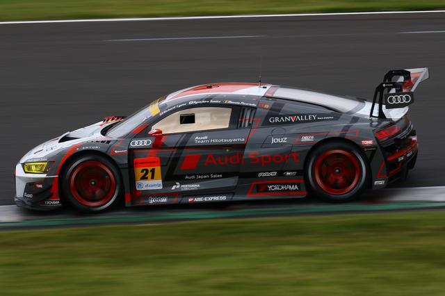 画像2: 【SUPER GT Rd.7 SUGO】Audi Team Hitotsuyamaが7位入賞