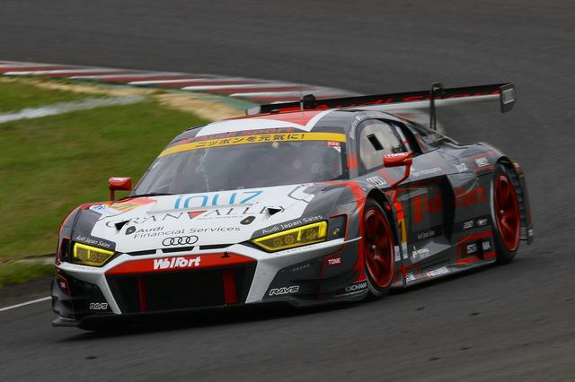 画像1: 【SUPER GT Rd.7 SUGO】Audi Team Hitotsuyamaが7位入賞