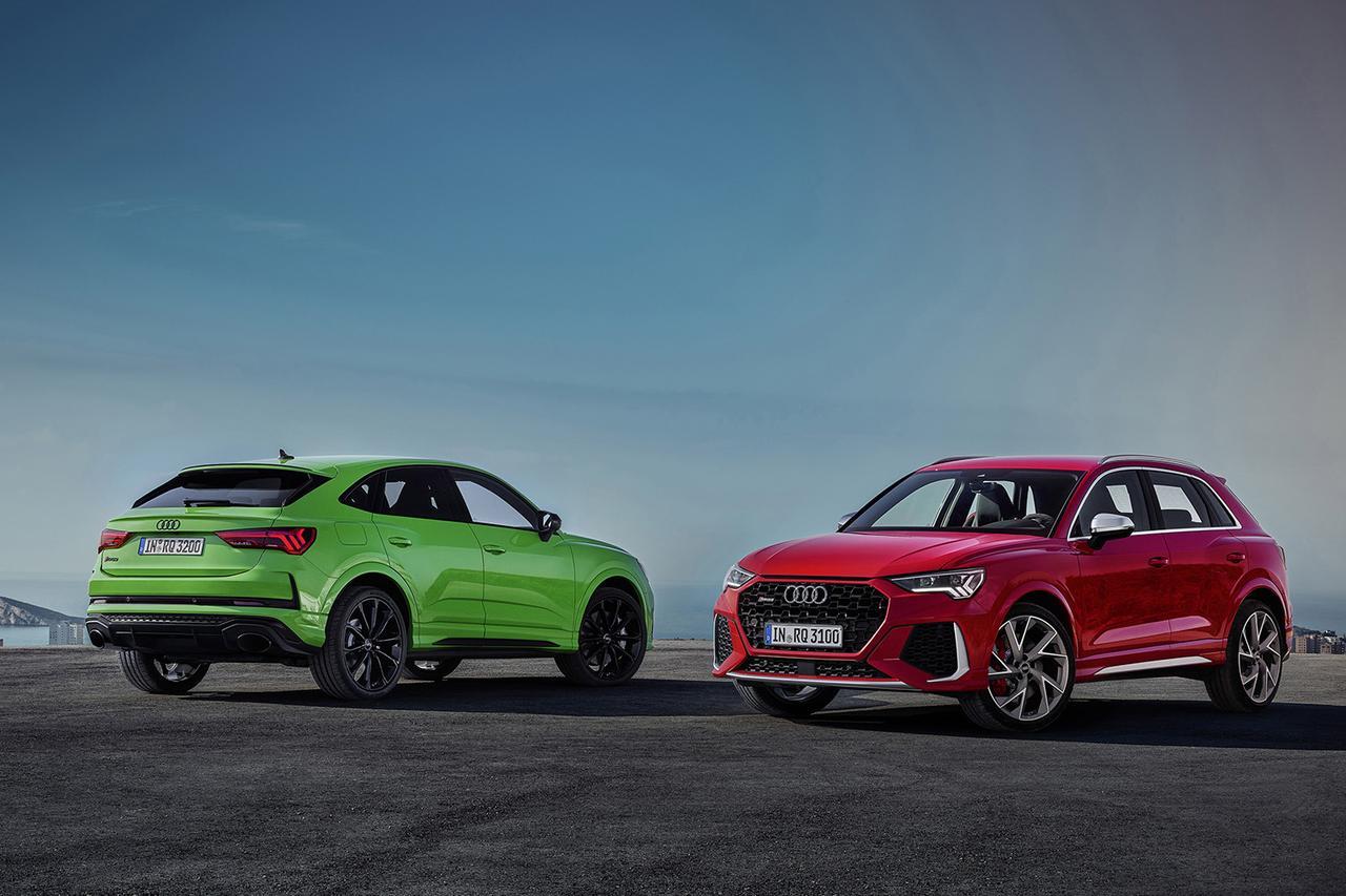 画像1: 「Audi RS Q3」「Audi RS Q3 Sportback」登場