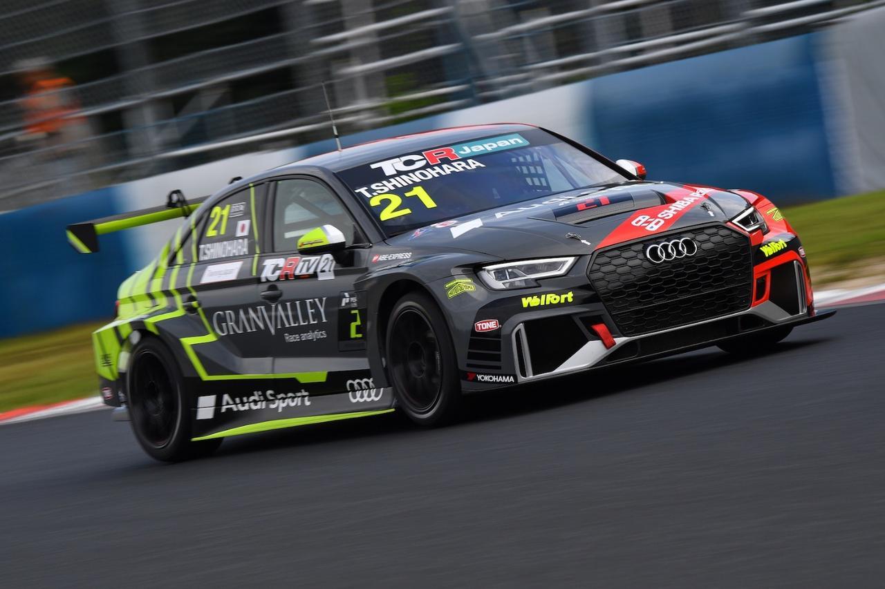 画像: 【TCRJ Rd.4 Okayama】Audiの篠原選手が2連勝