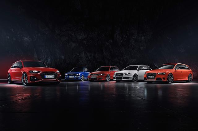 画像2: 「Audi RS 4 Avant」がフェイスリフト