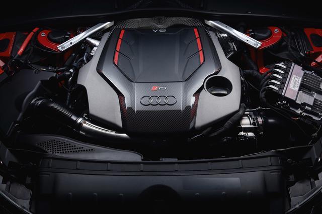 画像7: 「Audi RS 4 Avant」がフェイスリフト