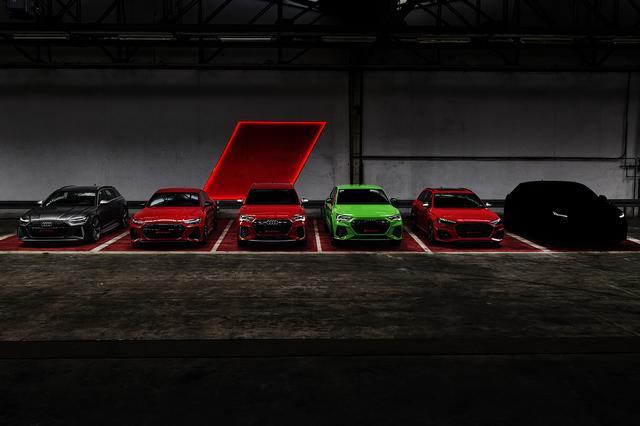 画像8: 「Audi RS 4 Avant」がフェイスリフト