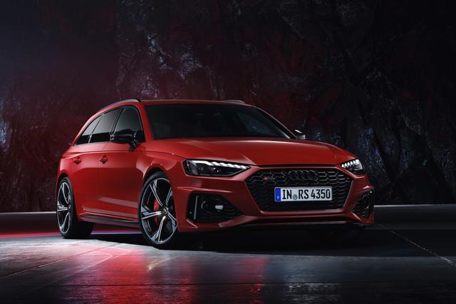 画像3: 「Audi RS 4 Avant」がフェイスリフト