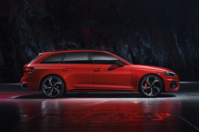 画像4: 「Audi RS 4 Avant」がフェイスリフト
