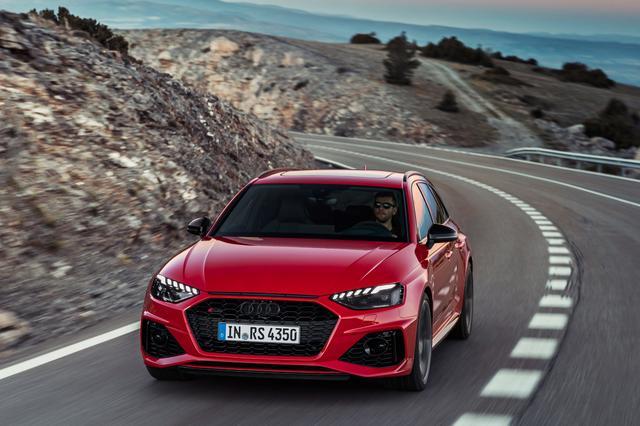 画像1: 「Audi RS 4 Avant」がフェイスリフト
