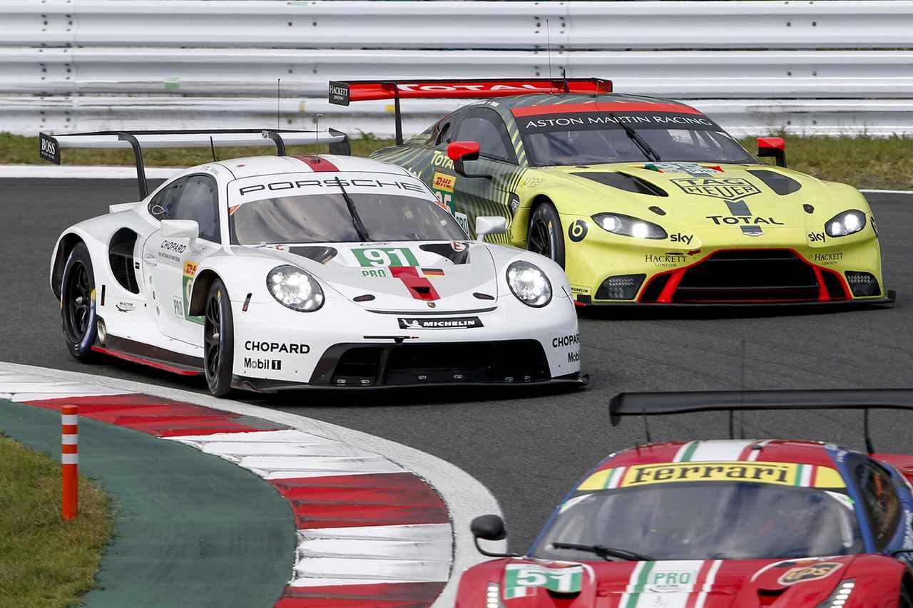 画像3: 【WEC Rd.2 Fuji】GTE Pro/Amクラスでポルシェが表彰台