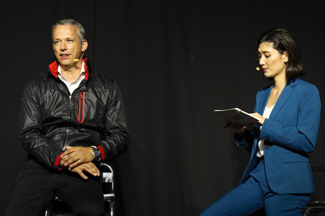 画像2: 「The all-new Audi A1 Sportback Press Conference」で新型Audi A1 Sportbackを紹介したフィリップ・ノアック社長
