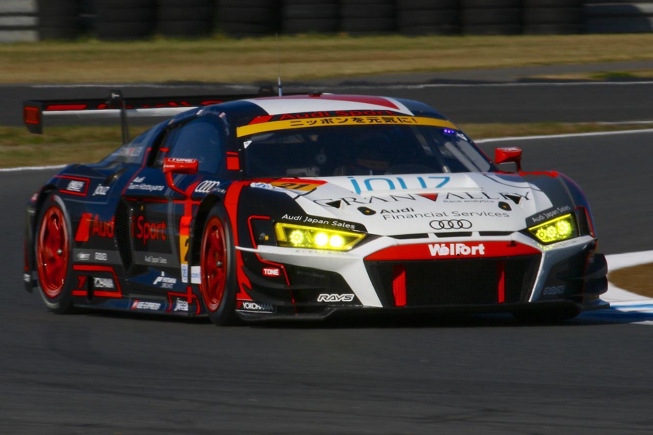 画像1: 【SUPER GT Rd.9 MOTEGI】Audi Team Hitotsuyamaがマシントラブルに見舞われながらも完走