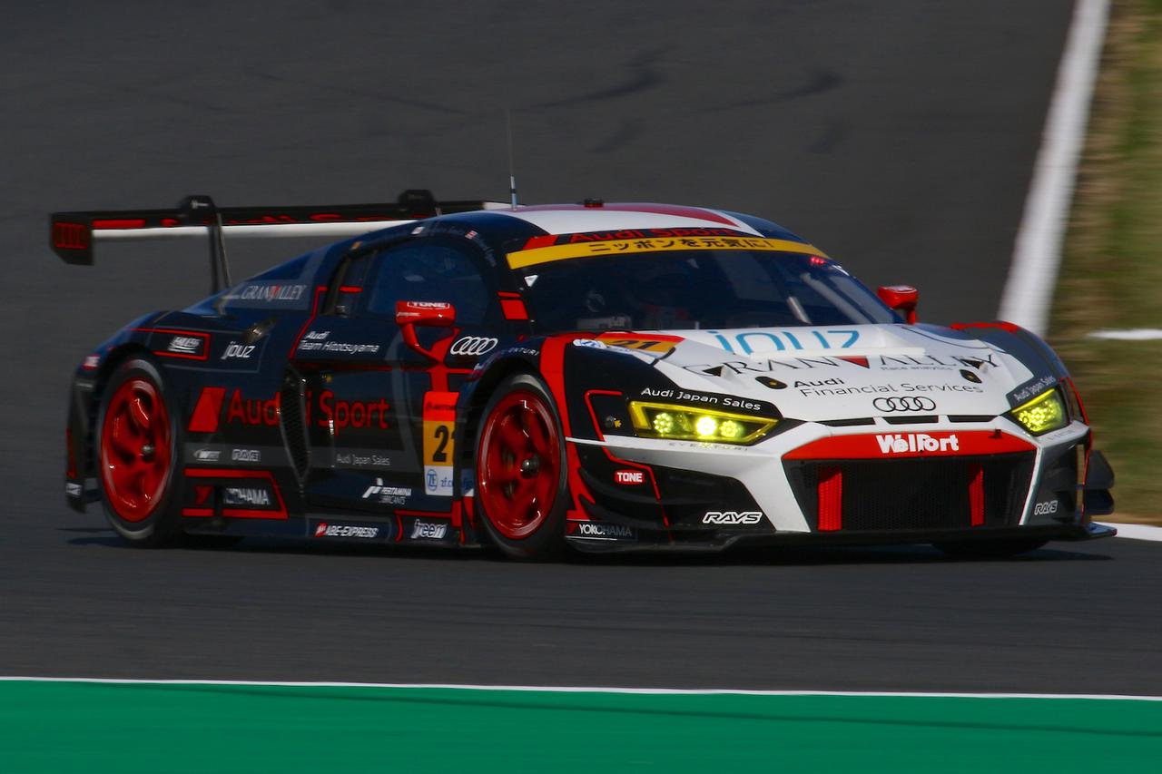 画像2: 【SUPER GT Rd.9 MOTEGI】Audi Team Hitotsuyamaがマシントラブルに見舞われながらも完走
