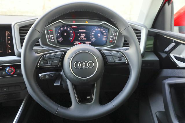画像13: 【ミニ試乗記】Audi A1 Sportback 35 TFSI Advance