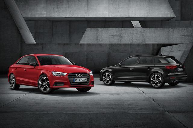 画像: Audi A3 black styling