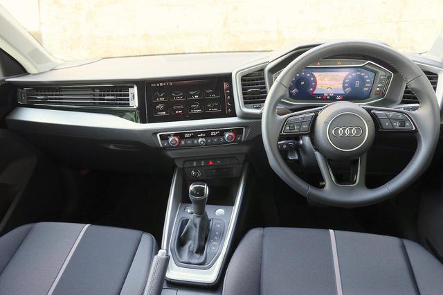 画像7: 【ミニ試乗記】Audi A1 Sportback 35 TFSI Advance