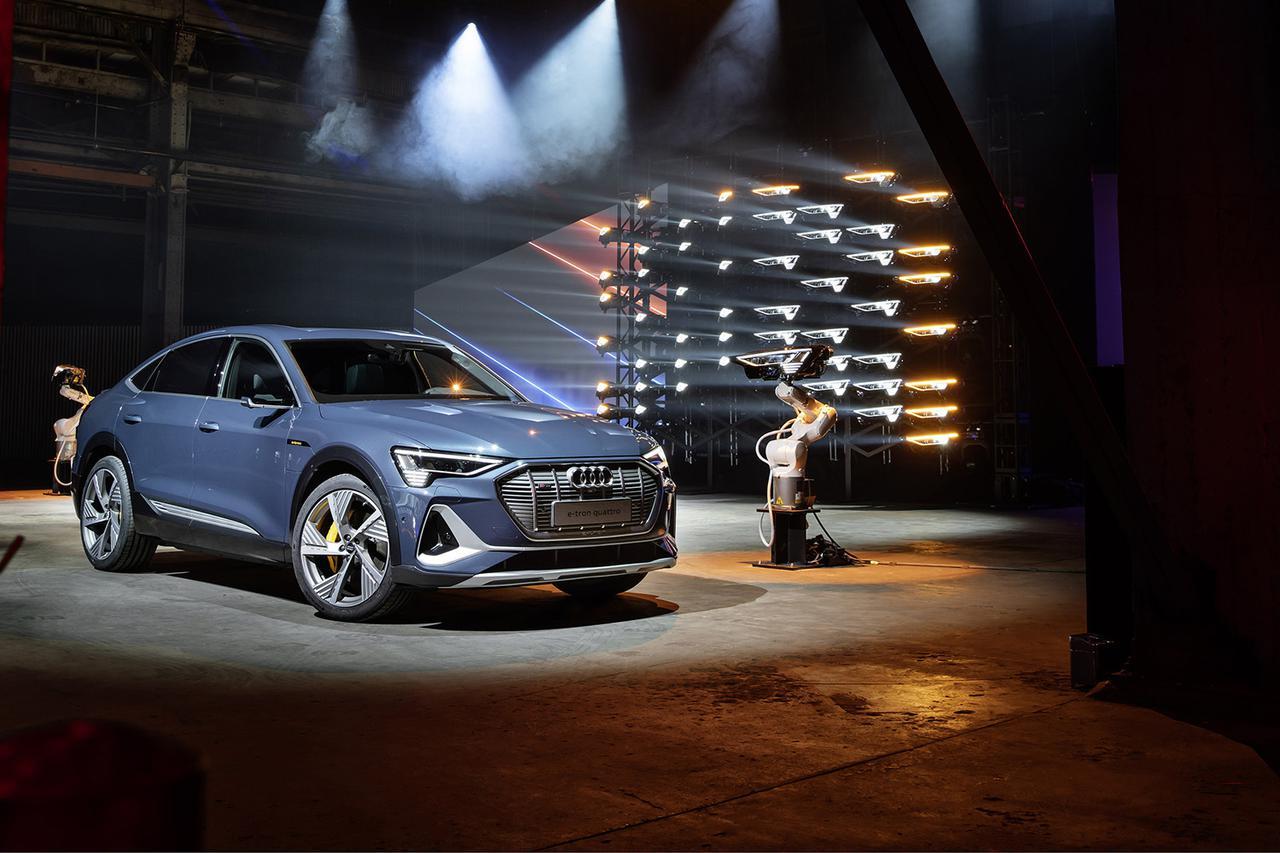 画像6: 「Audi e-tron Sportback」がLAショーでデビュー