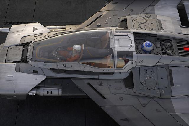 画像4: ポルシェとルーカスフィルムがコラボ  「トライウィング S-91x ペガサス スターファイター」誕生