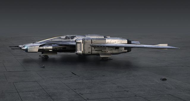 画像2: ポルシェとルーカスフィルムがコラボ  「トライウィング S-91x ペガサス スターファイター」誕生