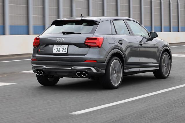 画像4: 【ミニ試乗記】Audi SQ2
