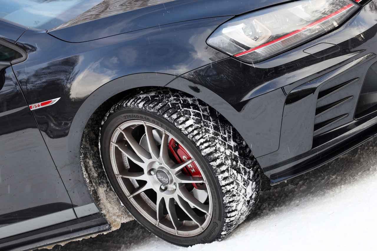 画像2: 【GTI Clubsport】冬のドライブは油断禁物