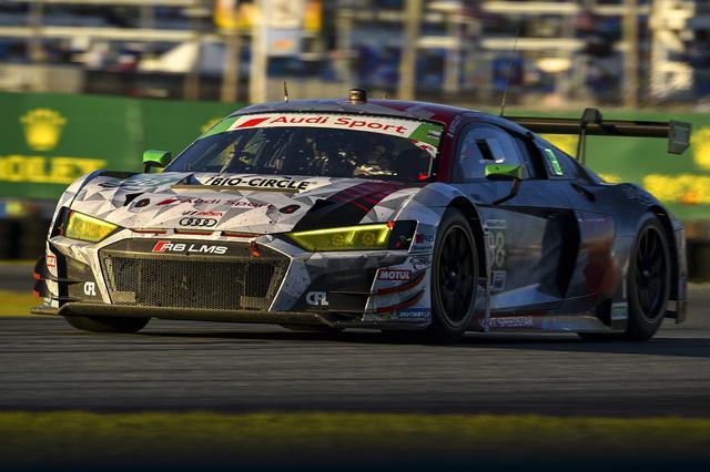 画像2: Audi R8 LMSがデイトナ24時間のGTDクラスで表彰台