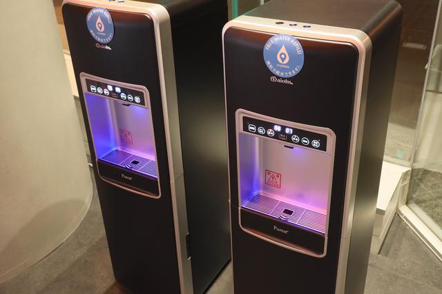 画像: アウディ ジャパンがサポートする「mymizu」の給水ポイントとして、無料で給水が可能 8speed.net