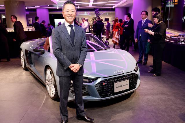 画像: Audi City 紀尾井町の店長を務める澤 智一郎氏