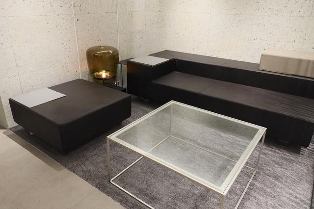 画像: 地下にはゆったりと商談ができるスペースも
