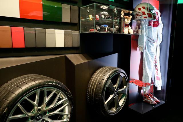 画像2: Audi Sportのアクセサリーも充実