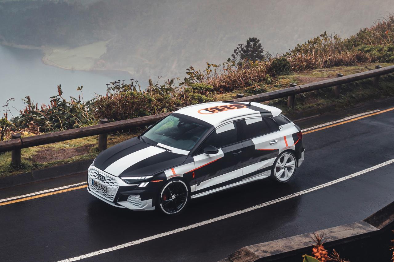 画像3: カムフラージュされた新型「Audi A3 Sportback」の写真公開