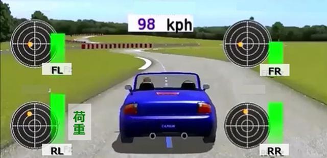 """画像: TOYO TIREがリアルタイムで""""タイヤ力""""を可視化"""