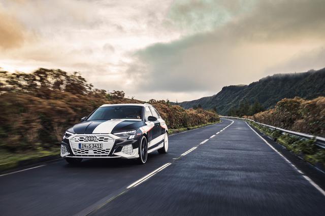 画像6: カムフラージュされた新型「Audi A3 Sportback」の写真公開