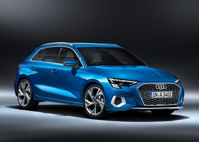 画像1: 新型「Audi A3 Sportback」がワールドプレミア