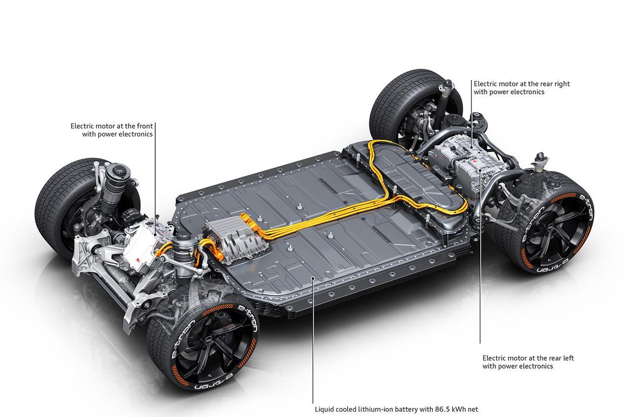 画像3: e-tronのSモデルは電動トルクベクタリング搭載