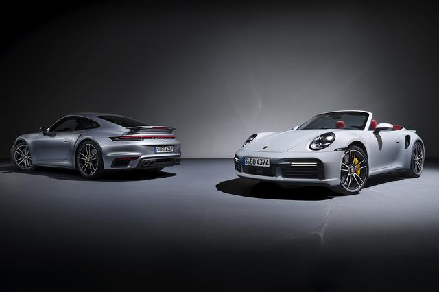 画像1: 新型「911ターボS」を追加