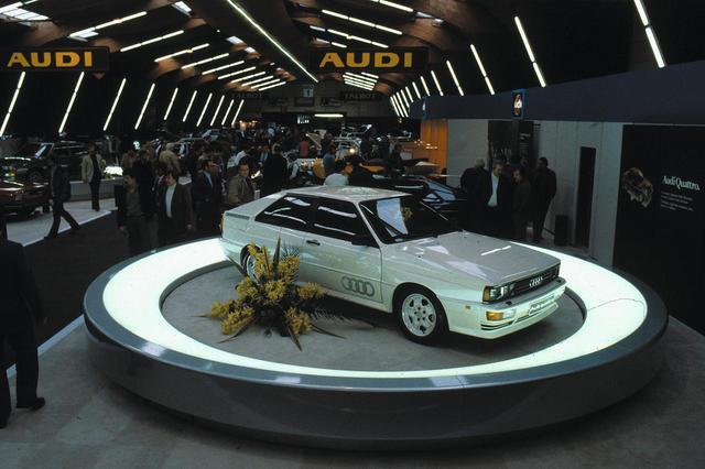 画像2: Audi quattro (Ur-quattro) in 1980 at the Geneva Motor Show