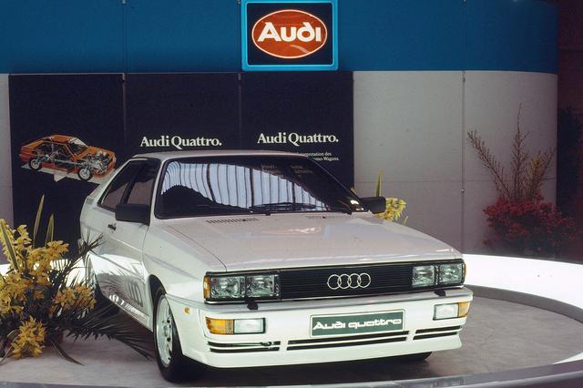 画像1: Audi quattro (Ur-quattro) in 1980 at the Geneva Motor Show