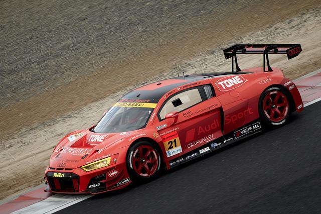 画像1: SUPER GT300クラスに参戦するAudi Team HitotsuyamaのAudi R8 LMS
