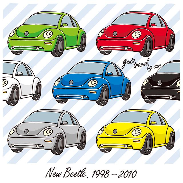 画像: 【gen's travel by car】New Beetle
