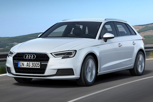 画像: Audi A3 Sportback g-tron。カタログ値ではCNGのみで400kmの航続が可能。