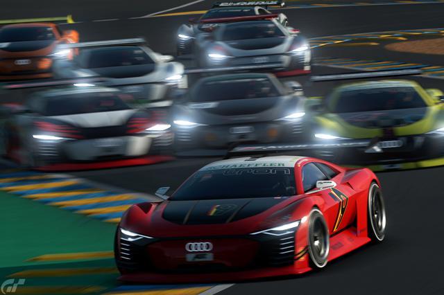 画像1: 「Audi e-tron Vision Gran Turismo」によるeスポーツがスタート