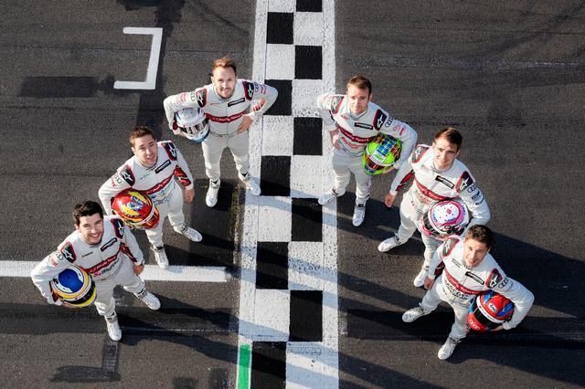 画像: 左から、マイク・ロッケンフェラー、ロビン・フラインス、レネ・ラスト、ジェイミー・グリーン、ニコ・ミュラー、ロイック・デュバル。