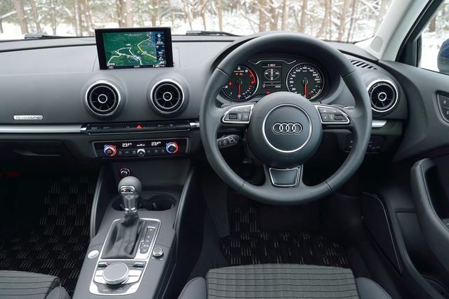 画像4: 【試乗記】Audi A3 Sedan 1.8 TFSI quattro[再]