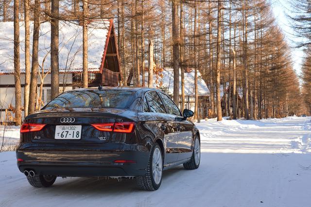 画像3: 【試乗記】Audi A3 Sedan 1.8 TFSI quattro[再]
