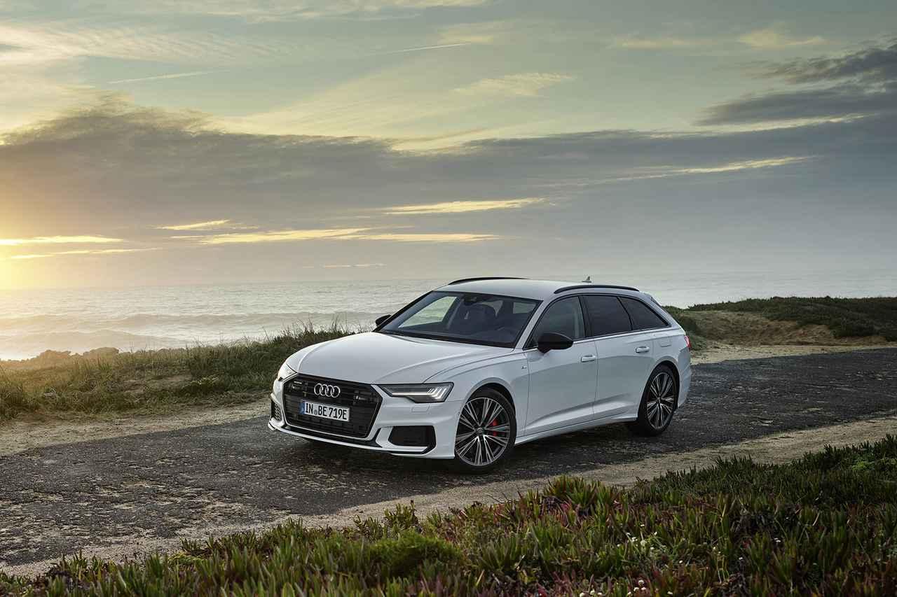 画像1: 「Audi A6 Avant」にPHEV追加
