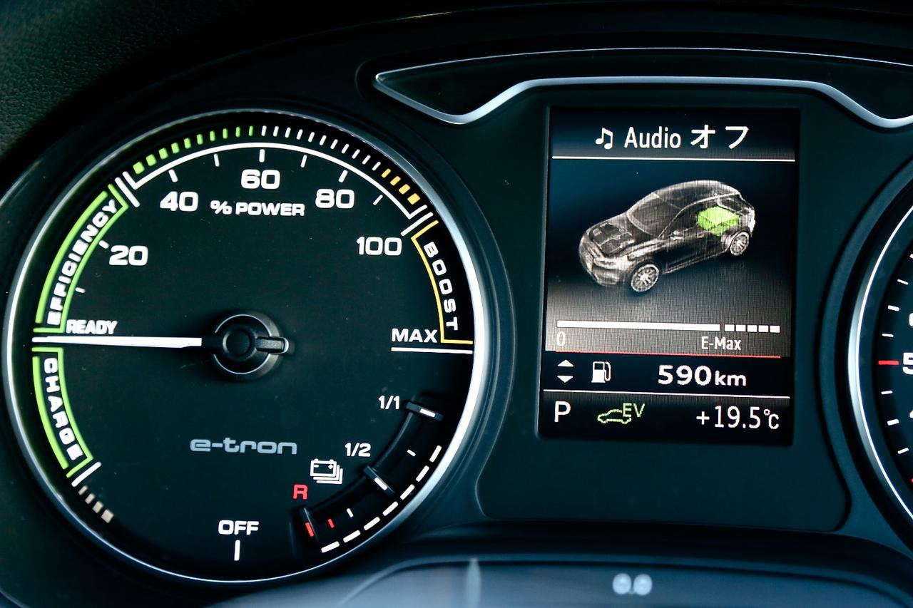 画像7: 【試乗記】Audi A3 Sportback e-tron[再]